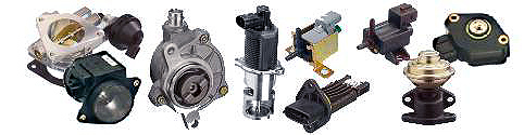 Vacuum pumps,solenoid valves, throttles, sensors